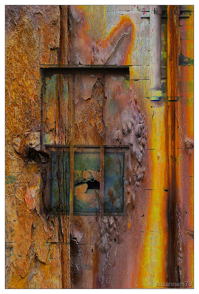Rusted Steel by suzannem73