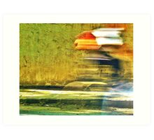 The Cyclist Art Print