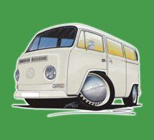 VW Bay Window Camper Van White Kids Clothes