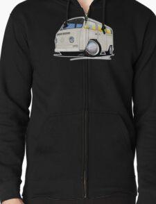 VW Bay Window Camper Van White T-Shirt