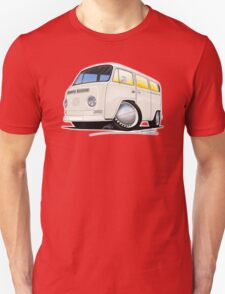 VW Bay Window Camper Van White T-Shirt