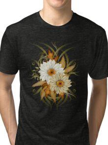 Autumn Flowers Tri-blend T-Shirt