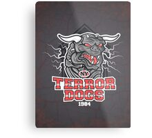 NY Terror Dogs Metal Print