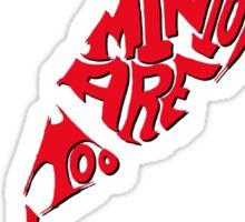Saucy Minion - Red Sticker