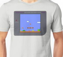 Mario on Gameboy Unisex T-Shirt