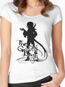 The Goblin King Women's Fitted Scoop T-Shirt