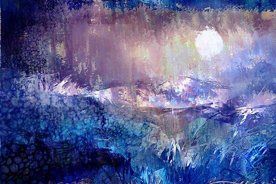 Moondance in the Night Garden by Kathie Nichols