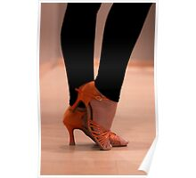 Woman Dance shoes Poster