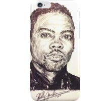 Chris Rock iPhone Case/Skin