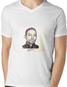 Chris Rock Mens V-Neck T-Shirt