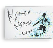 Lionel Messi Poster Canvas Print