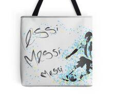 Lionel Messi Poster Tote Bag