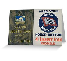 Second Liberty Loan of 1917Buy a bond Greeting Card