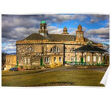 Town Hall and Glebe Park Bandstand Poster