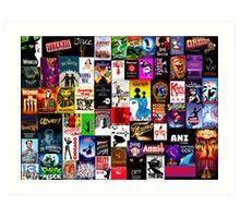Musicals!!! Art Print