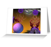 Tendrils Greeting Card