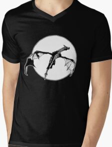There Be Dragons Mens V-Neck T-Shirt