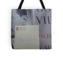 Gore Vidal Remembered 1925-2012 Tote Bag