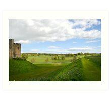 At Alnwick Castle Art Print