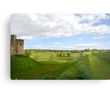 At Alnwick Castle Metal Print