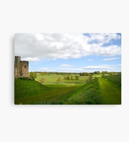 At Alnwick Castle Canvas Print