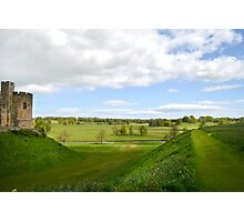 At Alnwick Castle Photographic Print