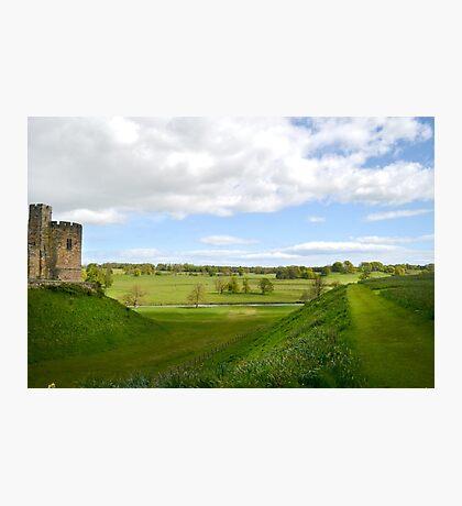 At Alnwick Castle Photographic Print