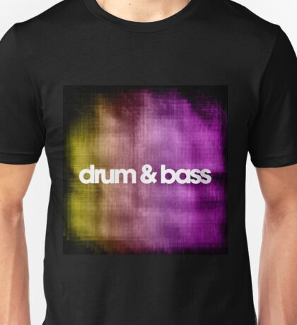 Drum & Bass (color harmonies)  Unisex T-Shirt