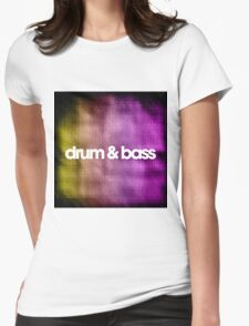 Drum & Bass (color harmonies)  Womens Fitted T-Shirt