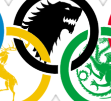 Game of Thrones - Olympics Sticker
