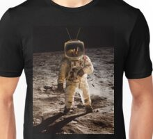 TV Astronaut moon walk Unisex T-Shirt
