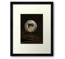 Fractal Art - Reflected Spheres Framed Print