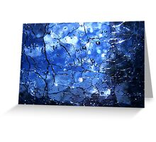 sky under glass Greeting Card