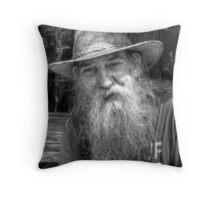 Sea Shanty Singer - Appledore  Throw Pillow