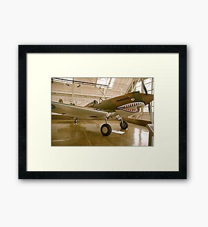Flying Tiger P40 Framed Print