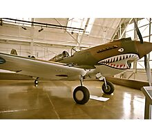 Flying Tiger P40 Photographic Print