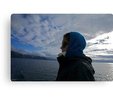 Conquest Lofoten Island - Captain Evita KittyCat. july 2012. Canvas Print