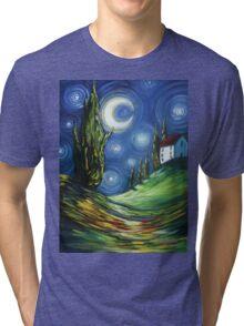 The Dreamers Night Sky Tri-blend T-Shirt