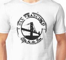 San Francisco - City By The Bay - Grunge Vintage Retro T-Shirt Unisex T-Shirt