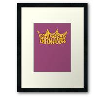 Shakespeare Shirts - Infinite Space  Framed Print
