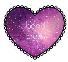 band trash (galaxy) | sticker by GxngerObsession