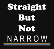 Straight But Not Narrow by Chris  Bradshaw