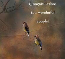 Congratulations card #1 by Eileen McVey