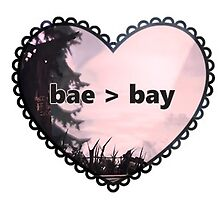 bae > bay (Arcadia Bay) | Life is Strange sticker by GxngerObsession