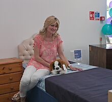 Anthea Turner opens debra shop in Locksbottom, Kent by Keith Larby
