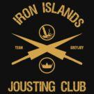 House GreyJoy Jousting Club Game of Thrones by chadkins