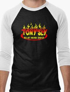 R.I.P. TONY SLY!! Men's Baseball ¾ T-Shirt