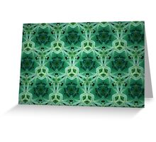 Prismatic Texture 136 Greeting Card