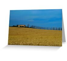 Toscana Italy Greeting Card