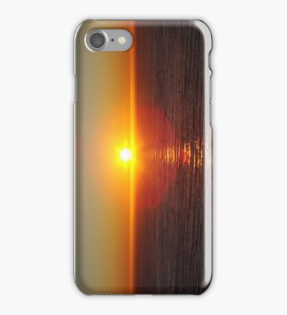 Sunset Over Ocean iPhone Case/Skin